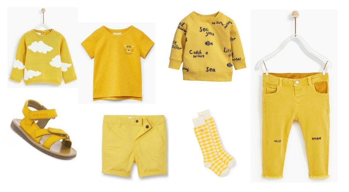 46703320844 Encore et toujours du jaune pour le dressing de bébé – Famille en ...