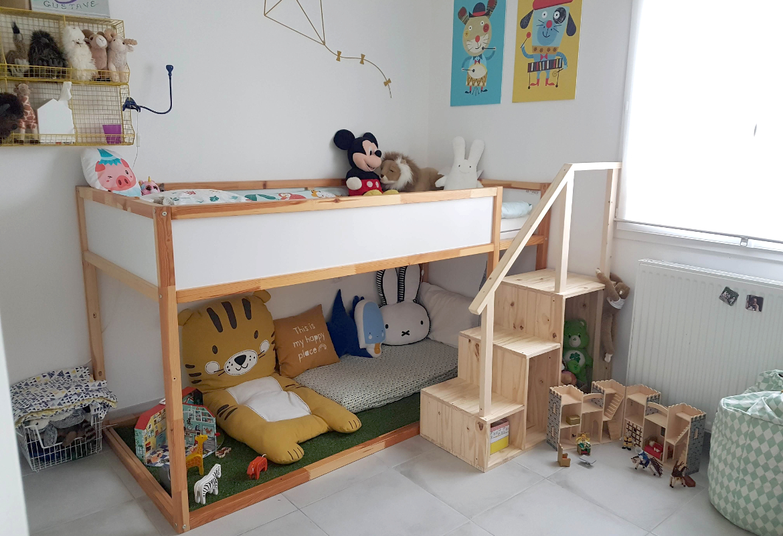 Dressing Sous Escalier Ikea organisation de chambre : le cas du lit kura d'ikea (+ test